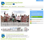 Sustainable Energy Europe Campaign - Homepage